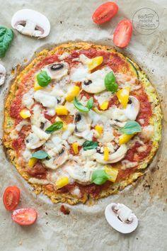 Zucchinipizza ohne Teig