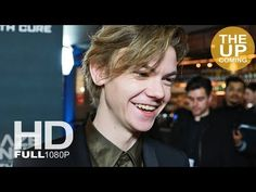 Thomas Brodie-Sangster goodbye interview at Maze Runner: The Death Cure premiere - YouTube