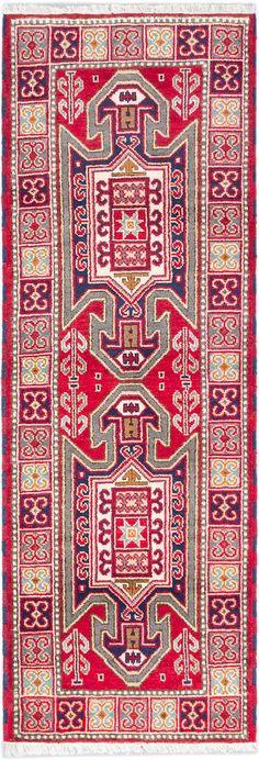 Hand Knotted Carpet 2 9 X 8 3 Royal Kazak Traditional
