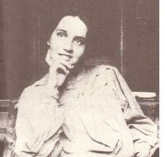 "Sibilla Aleramo 1876-1960 An Italian author and feminist who had a relationship with Cordula ""Lina"" Poletti and this relationship was recounted in the novel Il passaggio (1919)"