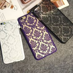 Rs 1000 (Cash on delivery) Luxury Vintage Damask Pattern Rubberized Matte Hard Case Cover Available in : Iphone 5 6 6 plus Samsung: Note 345 S5S6S6 Edge S6 edge Grand Prime A7 E5. How to place order: - Inbox us on Facebook - Whatsapp us : 03064744465 Website : http://ift.tt/1PrWoCy - http://ift.tt/1MNMhRR