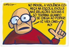 Violência no Brasil...