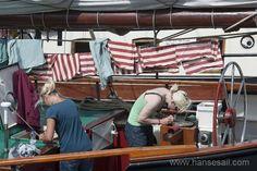 Keeping clean at Hanse Sail Rostock