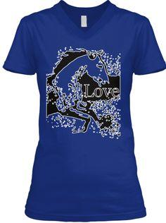 Love your Horse T-Shirt Dark Blue | Teespring