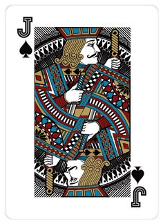 Jack Playing Card | Playing_Cards_by_John_Powell_Jack_of_Spades