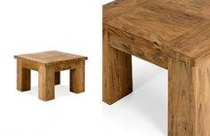 Beistelltisch 60x60 Cordoba Teak massiv Holz Möbel Wohnzimmertisch Couchtisch Tisch