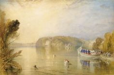 Virginia Water. Joseph Mallord William Turner.