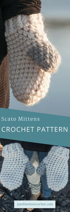 Scato mittens crochet pattern. Gloves crochet pattern. Easy crochet pattern. Quick crochet pattern. Crochet pattern for her. #crochet #crochetmittens #easycrochetpattern #womenscrochetpattern #mittenscrochetpattern