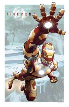 Iron Man by Mark S. Miller & Teodoro Gonzalez *