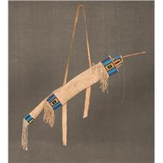 Sioux Beaded Bowcase and Quiver