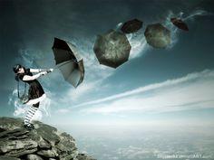 Umbrella Girl by ~septian93 on deviantART