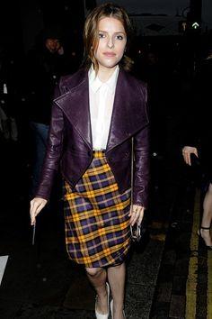Everyone's wearing Tartan… Again