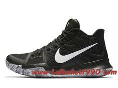 buy popular c46d1 26693 Nike Kyrie 3 BHM 852415-001 Chaussures Nike Basket Pas Cher Pour Homme Noir