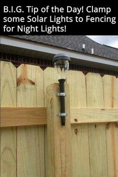 Great idea for a late night back yard barbecue....