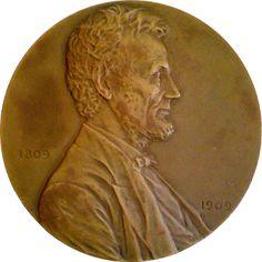 Abraham Lincoln Birth Centennial by Victor David Brenner (1909)