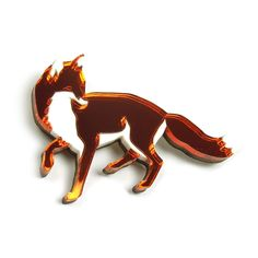 Fox Brooch by Wolf and Moon