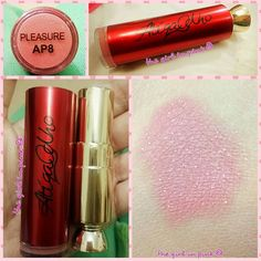 #Review - #Atiqa #odho #cosmetics #lipstick - #Pleasure AP8 Recently got a chance to review this beautiful lip color. Check my blog to see if it impressed or depressed me. Link in bio #pakistani #beautyblogger #lipstick #lipcolor #lipstain #lip #pink #nude #packing #thegirlinpink21 #checkmyblogfordetails #glitter #odhocosmetics