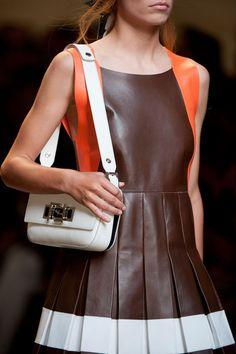 Fendi at Milan Fashion Week Spring 2015 - Details Runway Photos