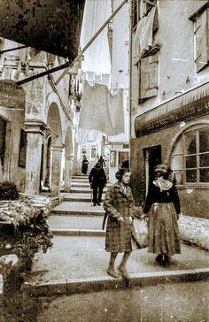 Hillside Village, Corfu Town, Corfu Greece, Cypress Trees, Old Navy, Scenery, Island, Beautiful, Corfu