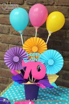 Diy And Crafts, Paper Crafts, Happy Birthday, Birthday Parties, Fiesta Party, Deco Table, Baby Party, Birthday Decorations, Holidays And Events