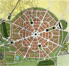 BERLAGE'S 1908 EXPANSION PLAN, THE HAGUE - THE NETHERLANDS