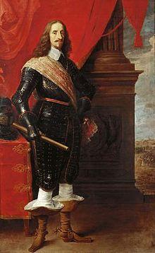 Leopold Wilhelm of Austria (1614 - 1662). Son of Ferdinand II and Maria Anna of Bavaria.