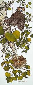 Whoo - Bev Doolittle - World-Wide-Art.com - $1995.00 #Doolittle #NativeAmerican