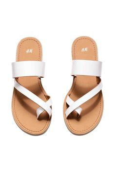 Sandals - from H&M from H&M. Saved to Shoes. Shop more products from H&M on Wanelo. H&m Shoes, Cute Shoes, Me Too Shoes, Shoe Boots, Shoes Sneakers, Low Heel Sandals, Flat Sandals, Cute Womens Shoes, Mode Streetwear