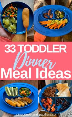 I'm sharing 33 easy and healthy dinner ideas for your young toddler. Toddler dinner ideas based on what my 1 year old eats. and Drink ideas 33 Easy Toddler Dinner Ideas Healthy Toddler Meals, Toddler Lunches, Toddler Food, Toddler Nutrition, Dinner For One, Dinners For Kids, Kids Meals, Toddler Dinners, Dinner Ideas For Toddlers
