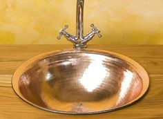 Vasque à encastrer / ronde / en cuivre MATAHATI
