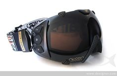 Zeal Optics Transcend Goggles are the first GPS enabled goggles with an LCD display. Provides real-time feedback to the shredder including speed, lat/long/ altitude, vert distance traveled, total distance traveled, chrono/stopwatch mode, a run counter, temp, and time.