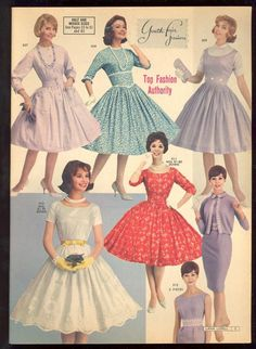 New Ideas for fashion dress full skirts Vintage Mode, Look Vintage, Vintage Wear, 1950s Style, Vintage Outfits, Vintage Dresses, 50s Dresses, Fashion Dresses, 1960s Fashion
