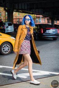 New York SS 2018 Street Style: Irene Kim