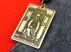Amulet  Tarot Card The High Priestess Tarot 2nd card