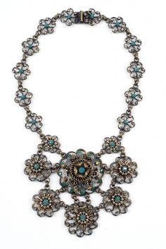 miriam haskell absinthe necklace