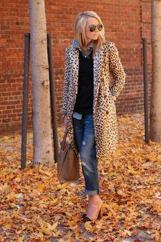 Cheetah Print Trench Coat Picture & Image   tumblr