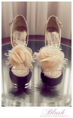 Pins we LOVE #myfauxdiamond Badgley Mischka wedding shoes
