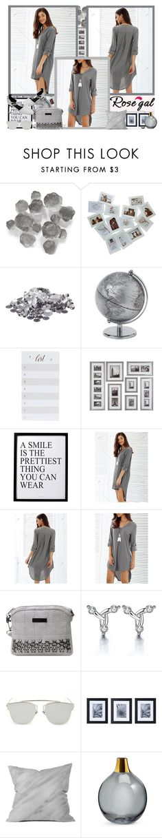 """""""Rosegal.com"""" by asia-12 ❤ liked on Polyvore featuring Palecek, Sugar Paper, 3R Studios, Mikasa, Dot & Bo and rosegal"""