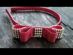Laço Chanel com manta de Strass | DIY-PAP - YouTube