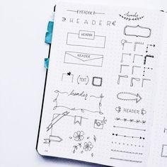 Planner Doodles - Inspiration for your Bullet Journal - ForeverGoodLife: