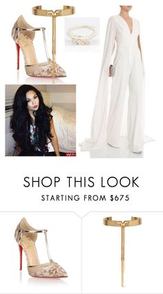 """Untitled #1538"" by fallen-angel-007 ❤ liked on Polyvore featuring Christian Louboutin and Eddie Borgo"