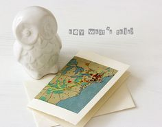 map card by Lisa Spangler