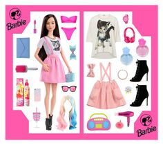 """Boxed Barbie"" by beanpod ❤ liked on Polyvore featuring Vivienne Westwood, Lancaster, Gianvito Rossi, Lime Crime, Rip Curl, Puma, Sonix, N.Peal, cute and Pink"