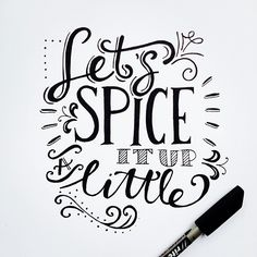 A bit of a slow monday so let's spice it up a little and play some tennis tonight!! :-) #typography #handmade #handlettering #lettering #qoute #drawing #graphic #paperfuel