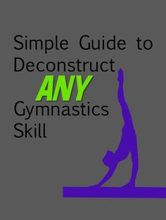 Want to make skills better? Get down to the source. #gymnasticscoaching