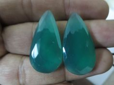 Sale & Ship Free Natural Green Chalcedony 32.30 cts by 8gemsinc, $12.99
