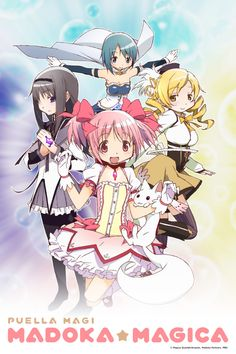 "Puella Magi Madoka Magica is the ""it show"" amongst otaku right now -- or so it seems anyway. It came out in Winter 2011 and seemed to completely displace K-ON. The show takes a lot of the tropes seen in magical girl anime shows and turns them on their head. Just a heads up: the show's dark and violent. If those things float your boat, then you'll enjoy it. These ladies aren't a bunch of damsels in distress either. Episode 10 is, as they say, quite godly and it really brings the show…"