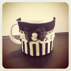 A tea cup warmer....so your tea won't get cold while you work on your fabulous crafts.