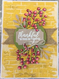 The Gift of Fall by Kathy LeDonne - Cards and Paper Crafts at Splitcoaststampers Card Making Inspiration, Making Ideas, Fall Cards, Holiday Cards, Pumpkin Crafts, Pumpkin Ideas, Stampin Up Paper Pumpkin, Thanksgiving Cards, Autumn Theme