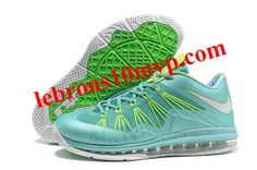 huge selection of 181ff 724a1 Nike Lebron 10 (X) Low Shoes Crystal Mint Poison Green Fiberglass